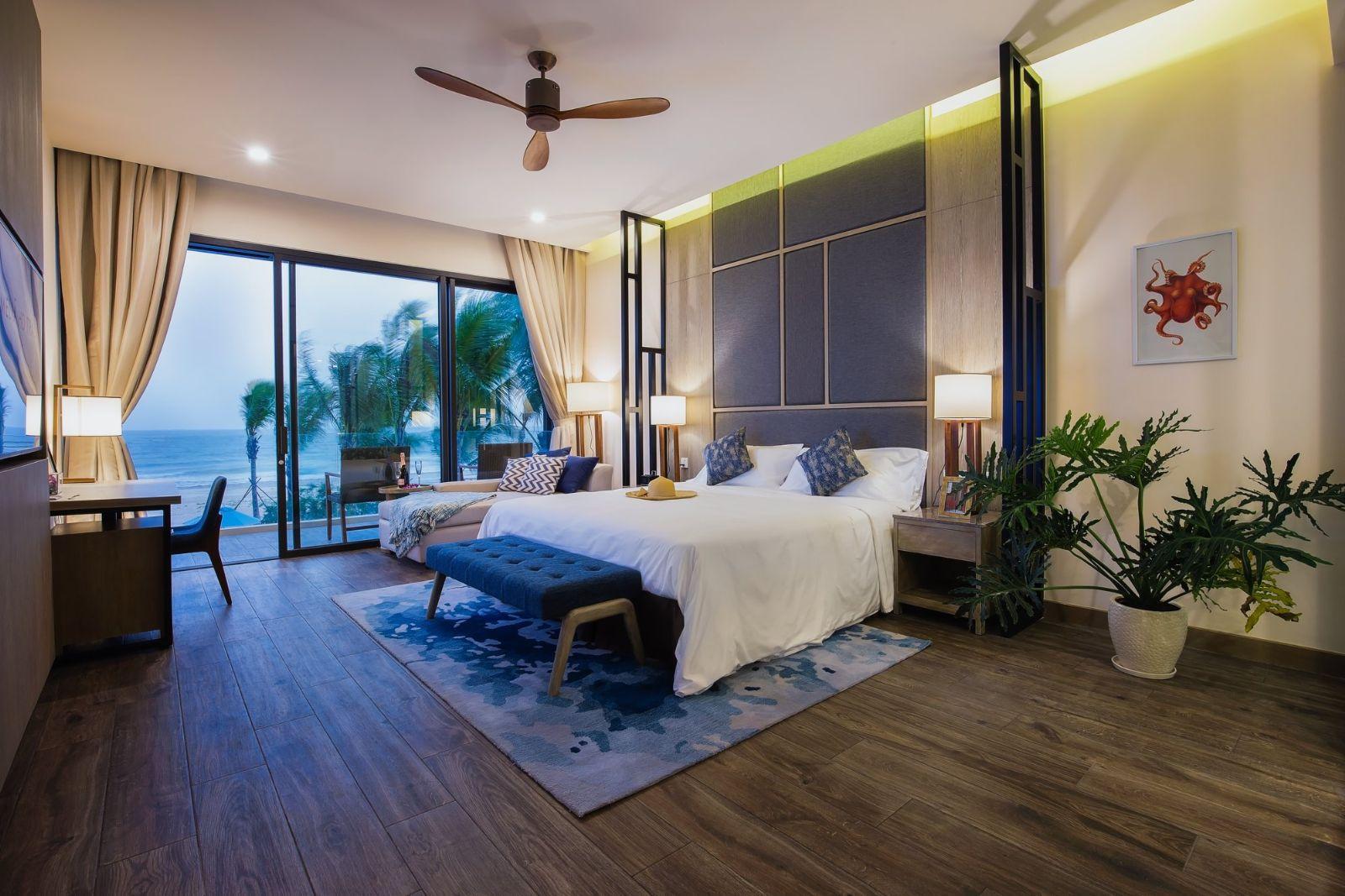 quạt trần pilot tại Melia Hồ Tràm Hotel & Resort