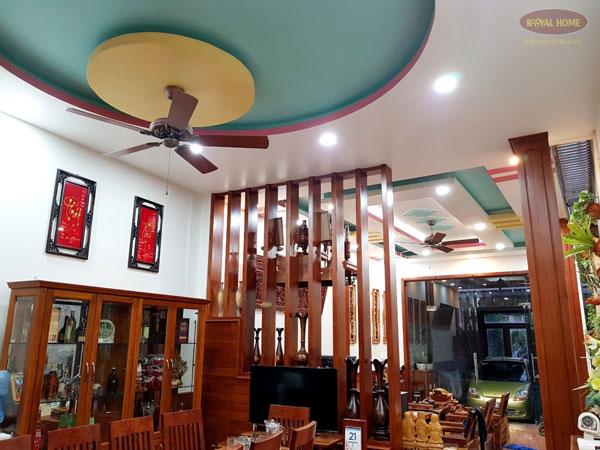 Quạt trần trang trí tăng thẩm mỹ cho ngôi nhà